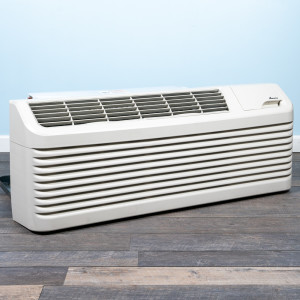Image 5 of 12k BTU Reworked Platinum-rated Amana PTAC Unit with Resistive Electric Heat Only - 208/230V, 15A, NEMA 6-15