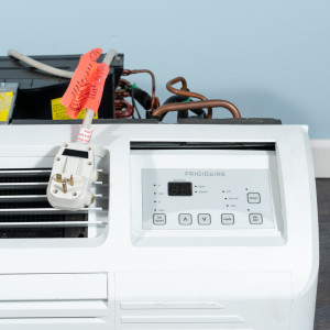 Image 2 of 9k BTU Reworked Gold-rated Frigidaire PTAC Unit with Resistive Electric Heat Only - 265/277V, 20A, NEMA 7-20