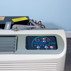 Image 2 of 12k BTU Reworked Gold-rated IslandAire PTAC Unit with Resistive Electric Heat Only - 265/277V, 20A, NEMA 7-20
