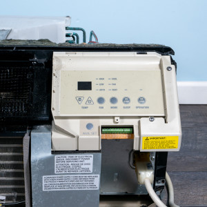 Image 4 of 7k BTU Reworked Gold-rated GE PTAC Unit with Resistive Electric Heat Only - 208/230V, 15A, NEMA 6-15