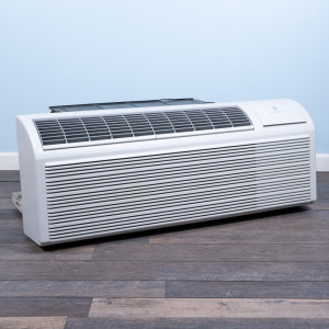 Image 3 of 9k BTU Reworked Gold-rated PTAC Unit with Resistive Electric Heat - 265/277V, 20A, NEMA 7-20