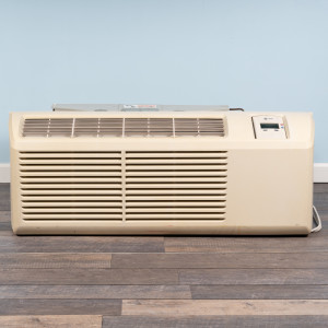 Image 1 of 9k BTU Reworked Gold-rated Midea PTAC Unit with Resistive Electric Heat Only - 208/230V, 20A, NEMA 6-20