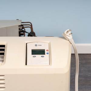 Image 2 of 9k BTU Reworked Gold-rated Midea PTAC Unit with Resistive Electric Heat Only - 208/230V, 20A, NEMA 6-20
