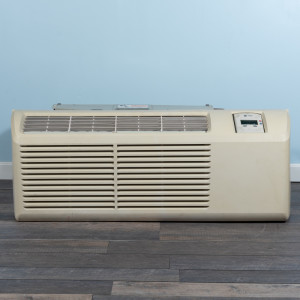 Image 1 of 7k BTU Reworked Gold-rated Trane PTAC Unit with Resistive Electric Heat Only - 208/230V, 20 A, NEMA 6-20