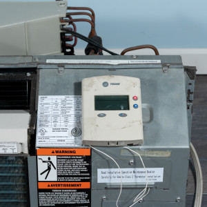 Image 4 of 7k BTU Reworked Gold-rated Trane PTAC Unit with Resistive Electric Heat Only - 208/230V, 20 A, NEMA 6-20