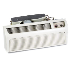 Image 1 of 9k BTU New Amana PTAC Unit with Resistive Electric Heat Only - 208/230V (AM9KEH230KN)