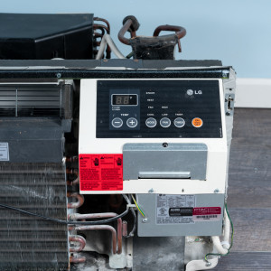 Image 4 of 12k BTU Reworked Gold-rated LG PTAC Unit with Resistive Electric Heat Only - 208/230V, 20A, NEMA 6-20
