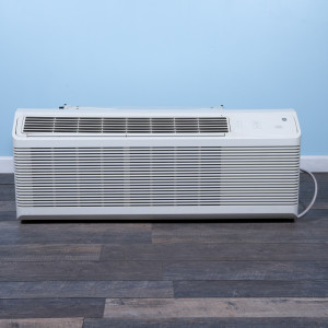 Image 1 of 9k BTU Reworked Gold-rated GE PTAC Unit with Heat Pump - 208/230V, 20A, NEMA 6-20