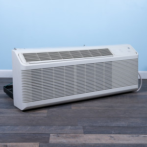 Image 3 of 9k BTU Reworked Gold-rated GE PTAC Unit with Heat Pump - 208/230V, 20A, NEMA 6-20