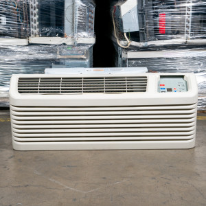 Image 3 of 12k BTU Reworked Gold-rated Amana PTAC Unit with Resistive Electric Heat Only - 208-230V, 20A