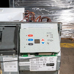 Image 1 of 12k BTU Reworked Gold-rated Amana PTAC Unit with Resistive Electric Heat Only - 208-230V, 20A