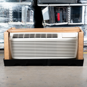 Image 5 of 12k BTU Reworked Gold-rated Amana PTAC Unit with Resistive Electric Heat Only - 208-230V, 20A