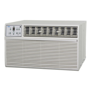 """Image 1 of Window Air Conditioner Unit - 12k Midea Arctic King ER72 Series 26"""" Air Conditioner With Resistive Electric Heat"""