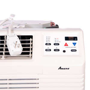 Image 2 of New Amana 9,000 BTU TTW Air Conditioner 115V 15A with Digital Controls with Heat Pump