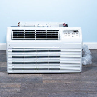 "Image of TTW Unit - 9k Gree 26"" Air Conditioner With Integral Heat Pump and 1.5 kW Resistive Electric Heat"