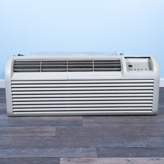 Image of 7k BTU Reworked Gold-rated GE PTAC Unit with Heat Pump - 208/230V, 20A, NEMA 6-20