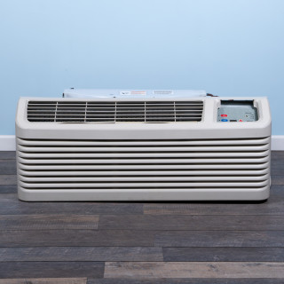 Image of 12k BTU Reworked Gold-rated Amana PTAC Unit with Heat Pump - 265/277V, 20 A, NEMA 7-20