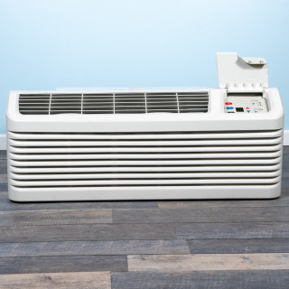 Image of 9k BTU Reworked Platinum-rated Amana PTAC Unit with Heat Pump - 208/230V, 15A