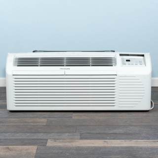 Image of 9k BTU Reworked Gold-rated Frigidaire PTAC Unit with Resistive Electric Heat Only - 208/230V, 20A, NEMA 6-20
