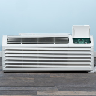 Image of 12k BTU New Midea PTAC Unit with Resistive Electric Heat Only - 208/230V, 20A, NEMA 6-20 (MP12EMB82)