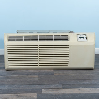 Image of 9k BTU Reworked Gold-rated Trane PTAC Unit with Resistive Electric Heat Only - 265/277V, 20A, NEMA 7-20