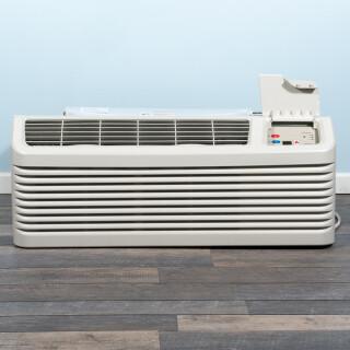 9k BTU New Amana PTAC Unit with Resistive Electric Heat Only - 265/277V, 20A, NEMA 7-20 (PTC094G35AXXX)