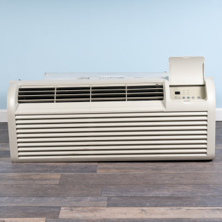 Image of 12k BTU Reworked Silver-rated PTAC Unit with Heat Pump - 265/277V, 15A, NEMA 7-15