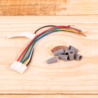 Image of New GE Thermostat Wire Harness For PTAC Units (WP26X21585)