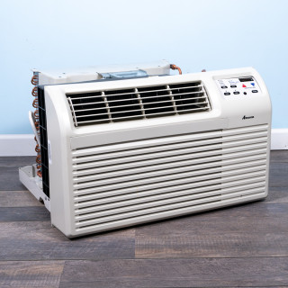 Image of New Amana 9,000 BTU TTW Air Conditioner 115V 15A with Digital Controls No Heat